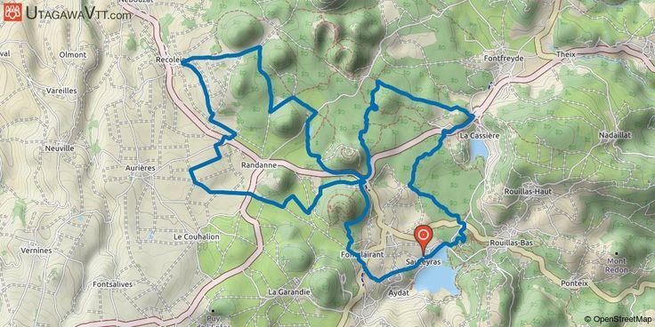 [Puy-de-Dôme] Aydat - Ronde des Lacs 2016 - 30 km La Ronde des Lacs 2016 avec une nouvelle très belle boucle au cœur des volcans d'Auvergne, la découverte de quelques lacs et le passage dans de très beaux paysages. Ce parcours ne présente pas de grandes difficultés.