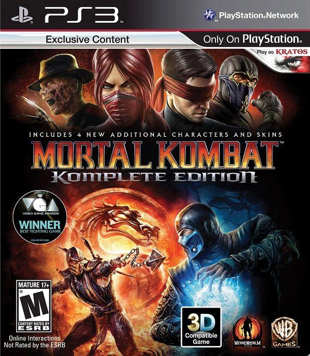 Ps3 Mortal Kombat Komplete Edition Us Import Mycraze Juegos De Ps3 Juegos De Consola Mortal Kombat X
