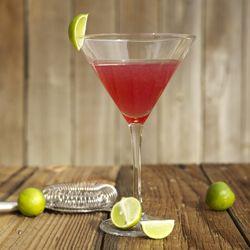 Limetten-Granatapfel Martini