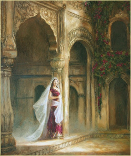 The widow of Haveli Ballimaran by Ralf Heynen