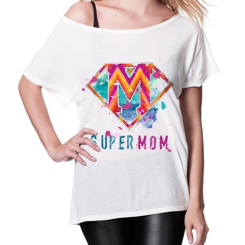 """The perfect gift for mother's day or even your mother's birthday!        with original artwork by Caroline Rovithi (www.caroline.gr)    available in white & black color        """"batwing"""" tunic t-shirt    100% Tencel Lyocell    Fine Jersey 120 g/m    ...from nature to your closet!"""