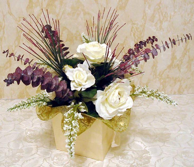 Artificial Wedding Centerpiece Flowers Budget