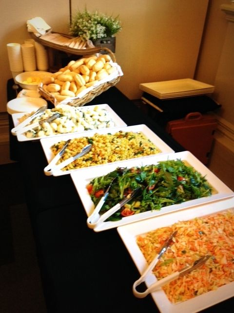 Crave Salad buffet Catering!