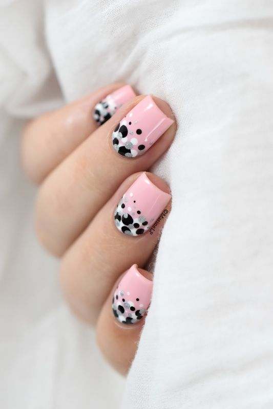 Confetti nails!  nail art by Marine Loves Polish - Nailpolis: Museum of Nail Art