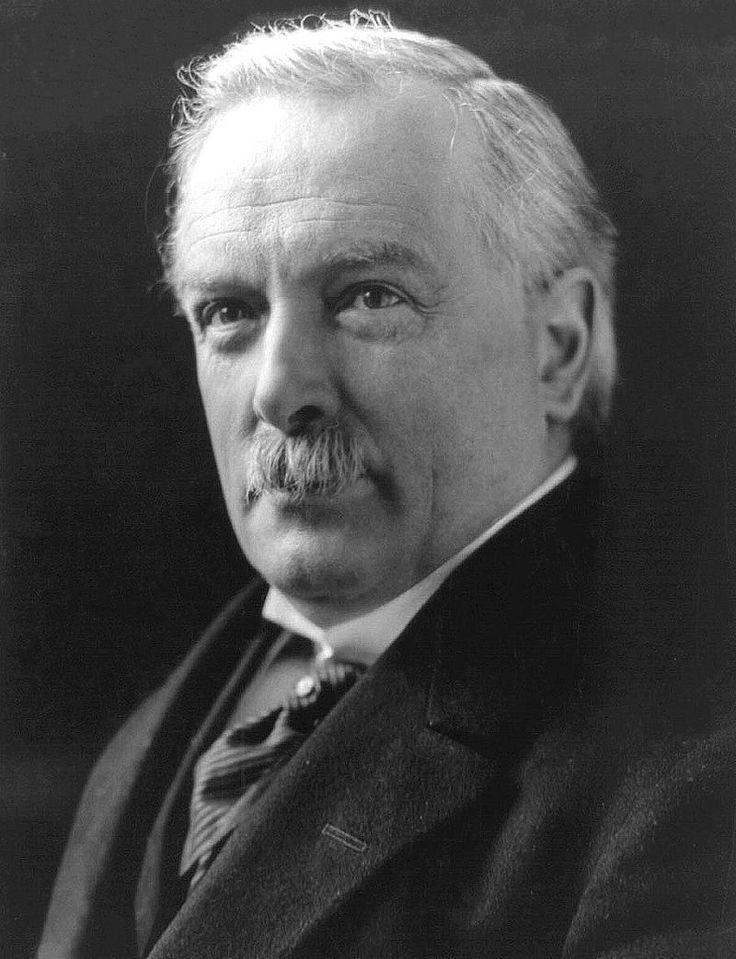 PRIME MINISTER: David Lloyd George (1863-1945). Prime Minister: 1916-1922.