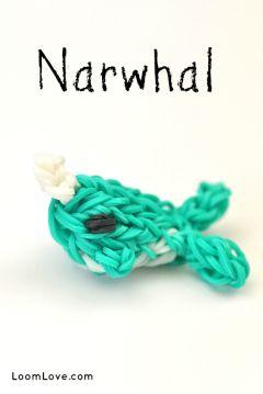 narwhal rainbow loom