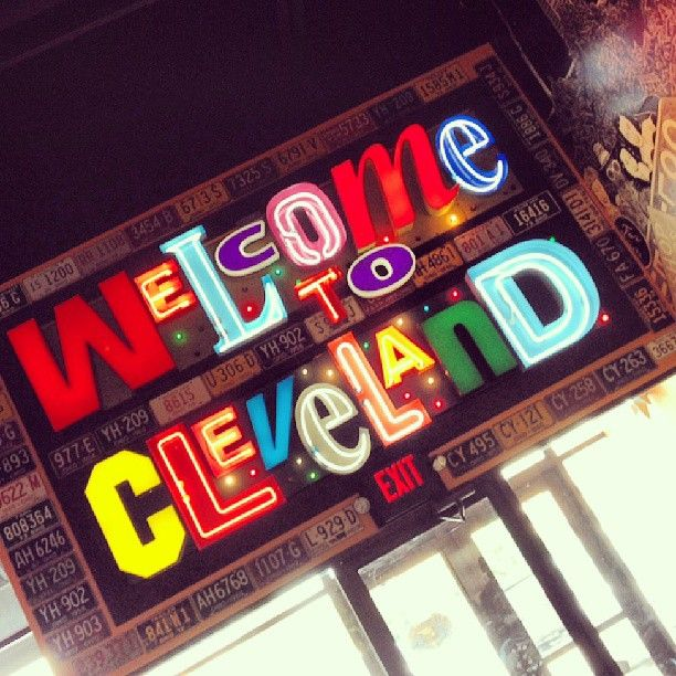 Welcome to Cleveland! The #WeVibe marketing team is at Melt Bar and Grilled, and having a blast! - #Cleveland #Ohio #fun #travel #instagood #picoftheday #art #style #instago