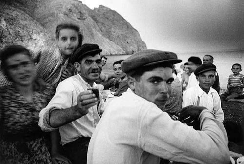 Santorini 1956 (photo William Klein)