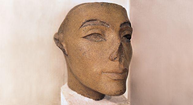 Kopf der Nofretete, Ägyptisches Museum, Kairo © bpk Bildagentur, Foto Margarete Büsing