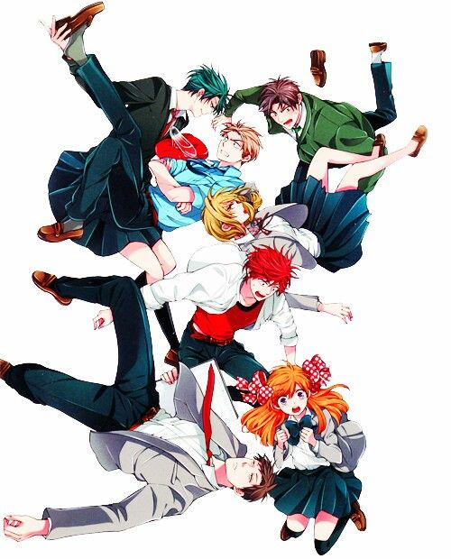 Gekkan Shoujo Nozaki-kun. I seriously think that this anime is TOO HILARIOUS AND ADORABLE. The characters are so unique and lovable to the core. <3 If you haven't seen this, you're missing out!! One of the best <3 (SYL)