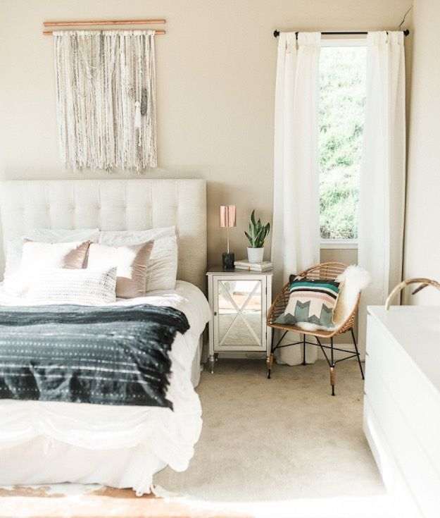 How to convert your room in Bohemian bedroom   Bohemian ...