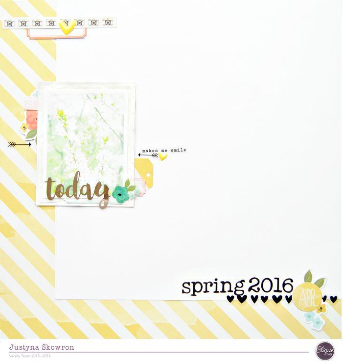 Clique Kits April blog hop