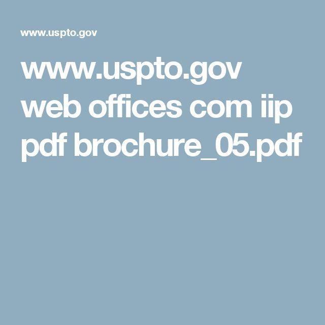 www.uspto.gov web offices com iip pdf brochure_05.pdf