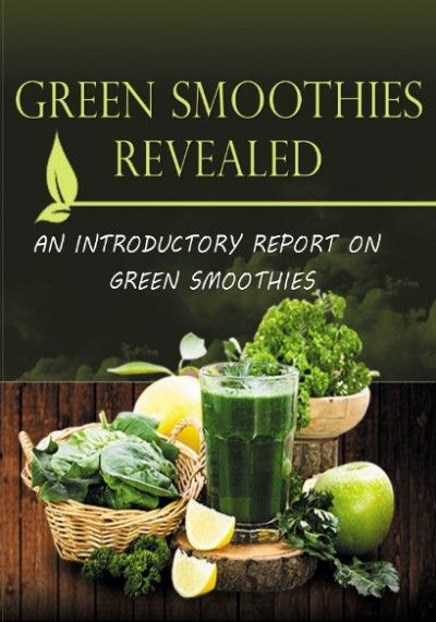 Claim a free copy of Green Smoothies Revealed