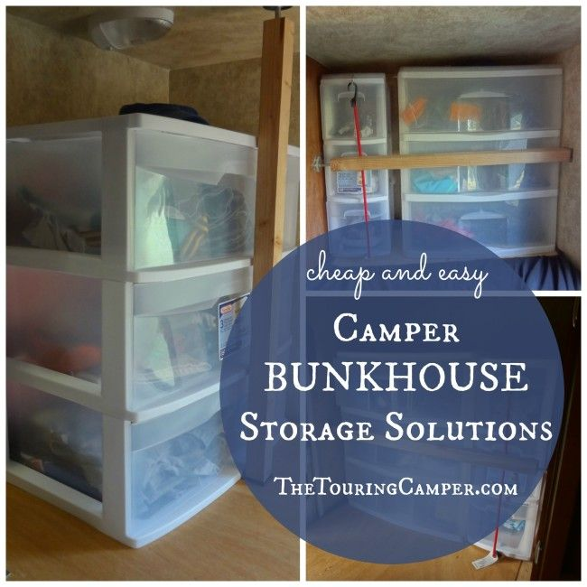 How To Organize Kids Clothes In A Camper