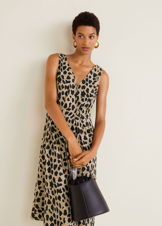 30e3f1e3 Leopard print dress - Women in 2019 | Spring / Summer 2018 | Animal ...