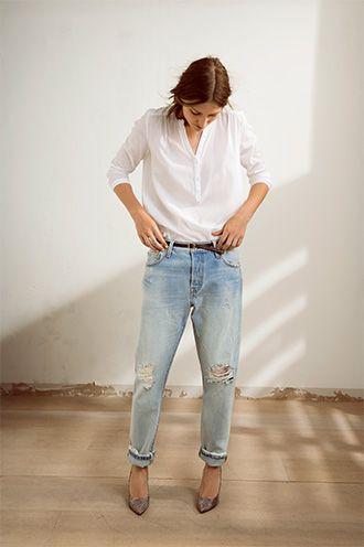 6b85ef10 LEVI'S® 501®CT WOMEN | f e m m e | Fashion, Casual chic, Minimal classic
