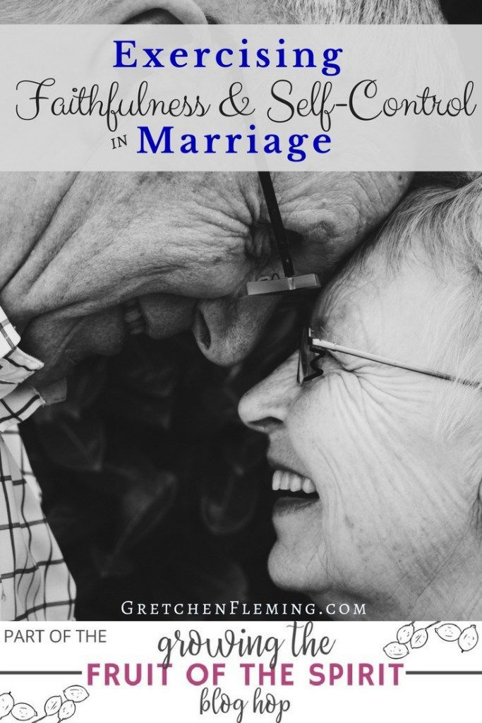 Learn how to grow the fruit of the Spirit in your marriage with faithfulness and self-control.