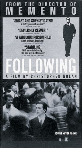 Following (Nolan's 1st Film). It only had a 6,000 dollar budget and is still better than half of the movies out now.