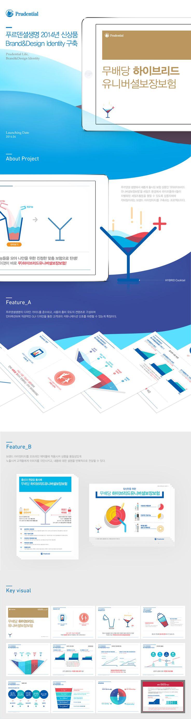 푸르덴셜 2014 신상품Brand&Design Identity 구축 #edacom