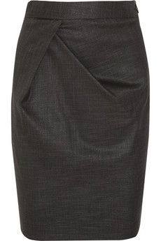 Vivienne Westwood Anglomania New Justice twill skirt