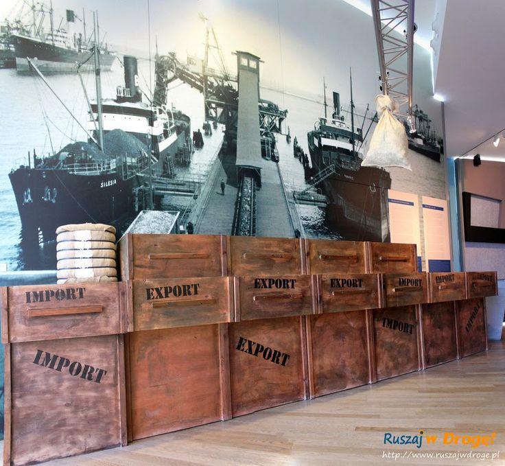 #Ekspozycja początku portu w #Muzeum Miasta #Gdynia
