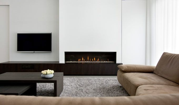 white walls with neutral tones + sectional Private House Keerbergen by Aerts + Blower_