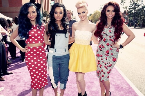 Little Mix at the KCA's.