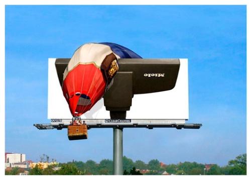 Las vallas publicitarias más creativas...