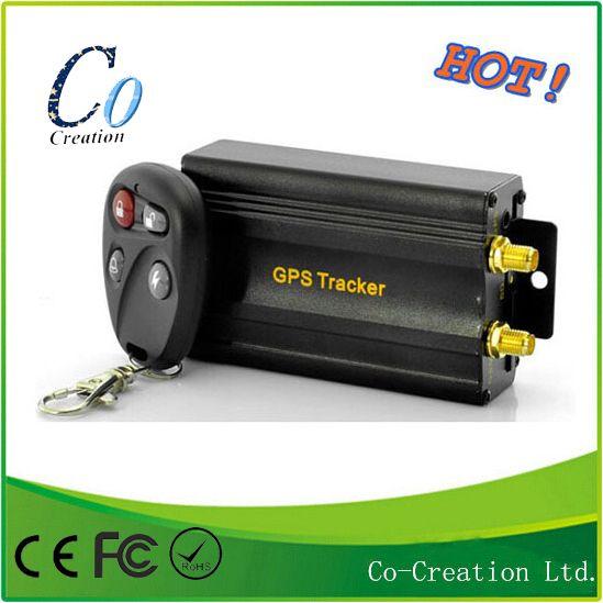 Прямая поставка Rastreador противоугонную GPS трекер автомобиль блокатор с дистанционным управлением GSM сигнализация слот для карт SD tk103b 103b
