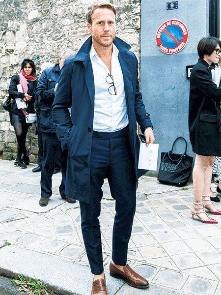 【MEN'S CLUB】ネイビーJKのように、春のネイビースプリングコートは着こなそう!