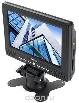 Rolsen RCL-700U портативный телевизор  — 3340 руб. —  Компания Rolsen представляет новые автомобильные телевизоры RCL-700U. Модель совместима со многими распространенными мультимедийными форматами и воспроизводит файлы с карт памяти SD/SDHC/MMC и USB-накопителей. Кроме того, осуществлена поддержка систем PAL, NTSC, SECAM. Высококачественный экран и широкие возможности – вот очевидные достоинства линейки автомобильных телевизоров Rolsen. Помимо стильного внешнего вида и многофункциональности…