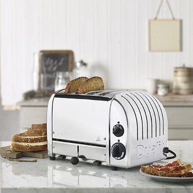 Dualit® 4-Slot Polished Toaster - From Lakeland