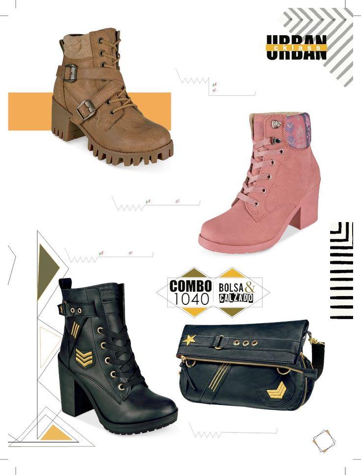 Botines de moda para mujer de Cklass. Calzado urban para esta temporada