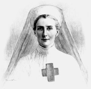 Edith Cavell. British Nurse who saved the lives of soldiers during World War 1. When the Germans invaded Belgium in 1914 Cavell began to assist in the escape of allied soldiers, after aiding the escape of 200 men; she was court-martialed, confessed and was executed by firing squad at dawn on 12 October, 1915.