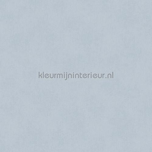 Uni vlies lichtblauw behang 363052 uit de collectie Blend van Eijffinger ontdek je bij kleurmijninterieur