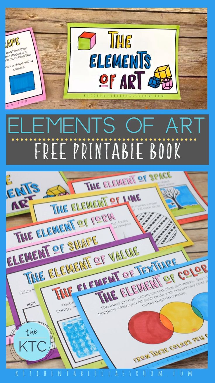 Components of Artwork Free Printable Ebook