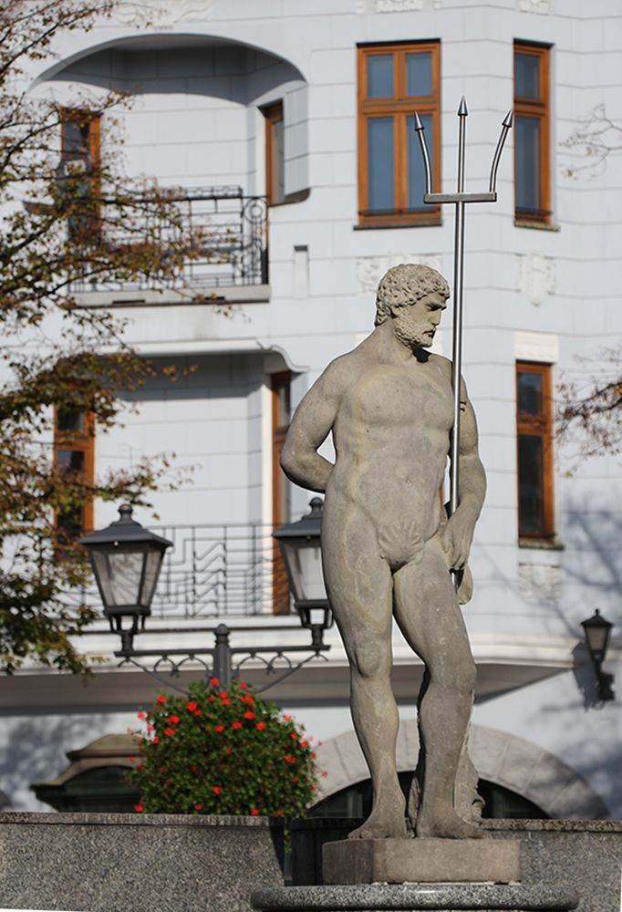 Bielsko-biała Old Town Sguare.