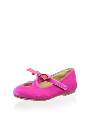 34% OFF Joyfolie Kid's Lilah Triple Key-Hole Shoe (Hot Pink)