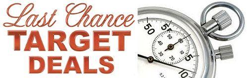 Last Chance Target Deals Valid thru Saturday, 9/28