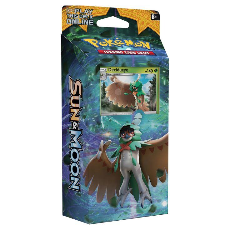 2017 Pokemon Trading Card Game Sun & Moon S1 Theme Deck featuring Decidueye