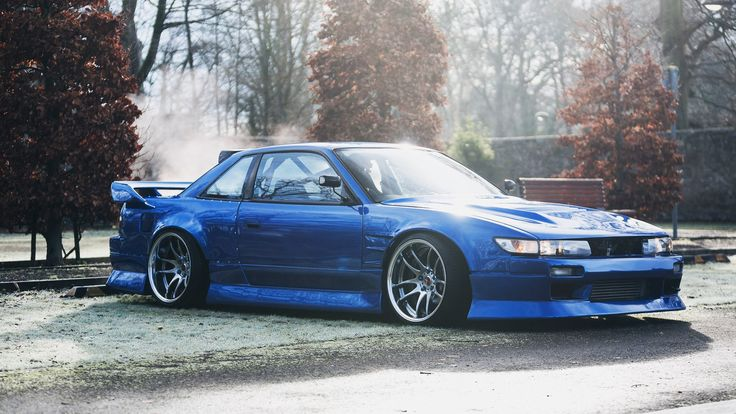 Nissan, Silvia, Nissan S13, S13, JDM, Japanese Cars, Parking Lot ...