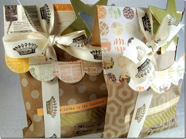 New Year's Bitty Bags by Michelle Philippi