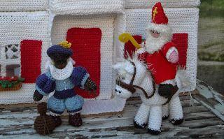 haken en zo wat meer: Haakpatroon Sinterklaas en zwarte Piet