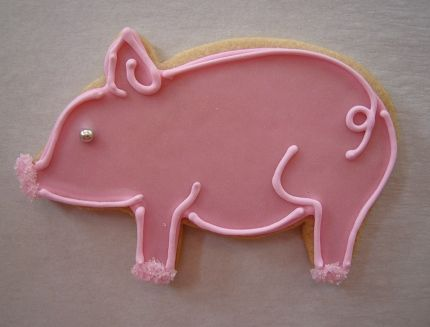 Pin By Christina Barreto On Decorated Cookies Cookies Pig Cookies