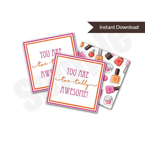 You Are Toe-Tally Awesome Valentine's Day Card by jennifertownsend