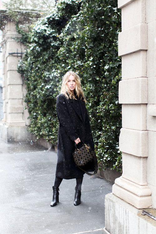Coat:  COS  Bag:  Dior  Shoes:  Roger Vivier