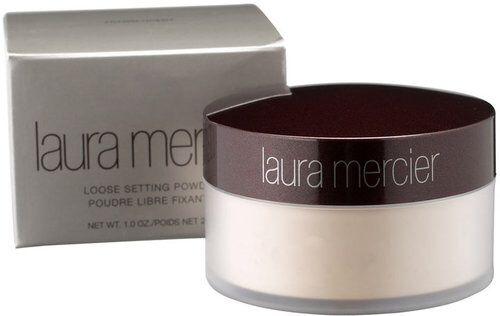 "Laura Mercier Translucent powder. Great for ""baking"""