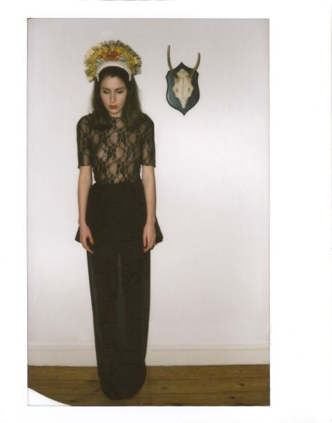 © MARLOW AND CO. SILENT THERAPY F/W 2014. Photos Anne Sophie Annese. Model Jade.