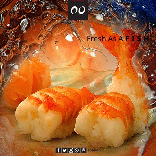 Fish as Fresh as you can get! At One Oak...